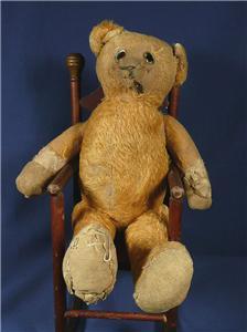 Sleepy eyed Teddy Bear